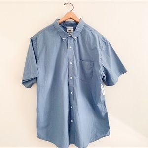 NWT Men's Old Navy Casual Short Sleeve Button Down